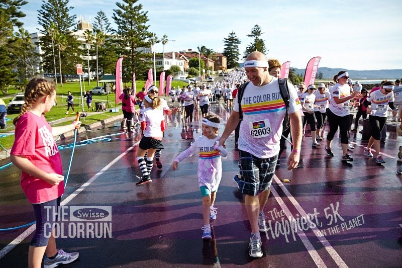 Colour run wollongong